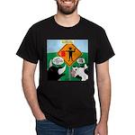 Bullfighter Warning Dark T-Shirt