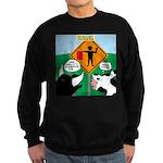 Bullfighter Warning Sweatshirt (dark)