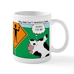 Bullfighter Warning Mug