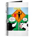 Bullfighter Warning Journal