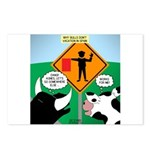 Bullfighter Warning Postcards (Package of 8)