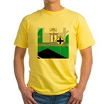 Math Warning Yellow T-Shirt