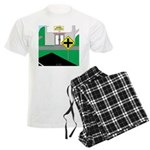 Math Warning Men's Light Pajamas