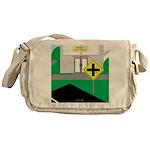 Math Warning Messenger Bag