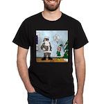 Santa in Camouflage Dark T-Shirt
