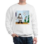Santa in Camouflage Sweatshirt