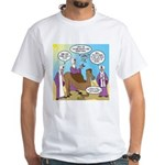 Wisemen Camel Problem White T-Shirt