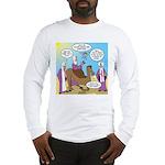 Wisemen Camel Problem Long Sleeve T-Shirt