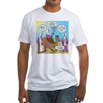 Wisemen Camel Problem Fitted T-Shirt