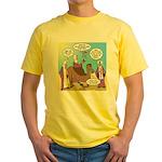 Wisemen Camel Problem Yellow T-Shirt