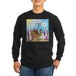 Wisemen Camel Problem Long Sleeve Dark T-Shirt