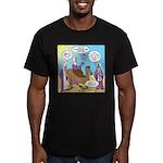 Wisemen Camel Problem Men's Fitted T-Shirt (dark)