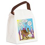Wisemen Camel Problem Canvas Lunch Bag