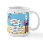 Wisemen Camel Problem Mug