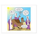 Wisemen Camel Problem Small Poster