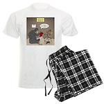 Bearly Christmas Men's Light Pajamas