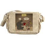 Bearly Christmas Messenger Bag