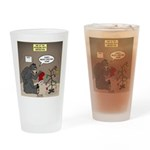 Bearly Christmas Drinking Glass