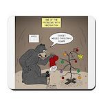 Bearly Christmas Mousepad