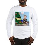 supervillain christmas Long Sleeve T-Shirt