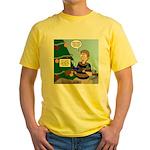 supervillain christmas Yellow T-Shirt