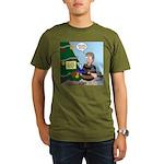 supervillain christma Organic Men's T-Shirt (dark)