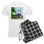 supervillain christmas Men's Light Pajamas