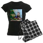 supervillain christmas Women's Dark Pajamas