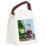 supervillain christmas Canvas Lunch Bag