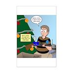 supervillain christmas Mini Poster Print