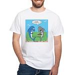 shark chum White T-Shirt