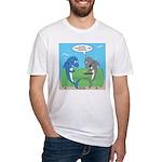 shark chum Fitted T-Shirt