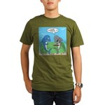 shark chum Organic Men's T-Shirt (dark)