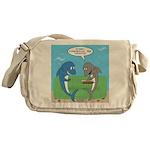 shark chum Messenger Bag