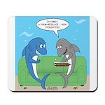 shark chum Mousepad
