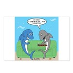 shark chum Postcards (Package of 8)