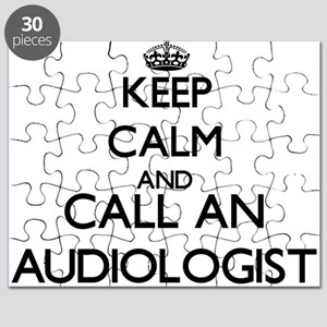 Keep calm and call an Audiologist Puzzle