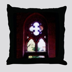 Symbol of Salvation Throw Pillow