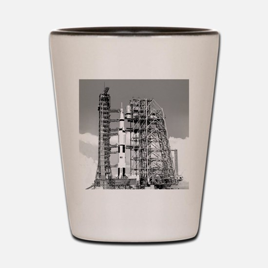 Saturn V Shot Glass