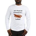 Christmas Lefse Long Sleeve T-Shirt
