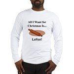 Christmas Lefse Long Sleeve T-Shirt