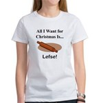 Christmas Lefse Women's T-Shirt