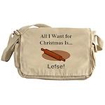 Christmas Lefse Messenger Bag