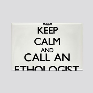 Keep calm and call an Ethologist Magnets