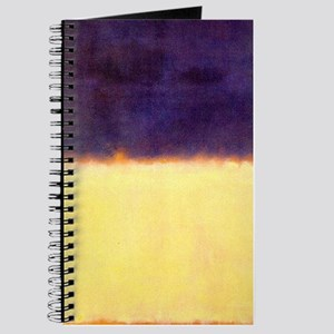 rothko-orange box with purple & yellow Journal