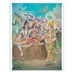 Ganesha walks around the Universe