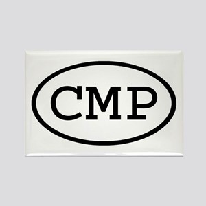 CMP Oval Rectangle Magnet