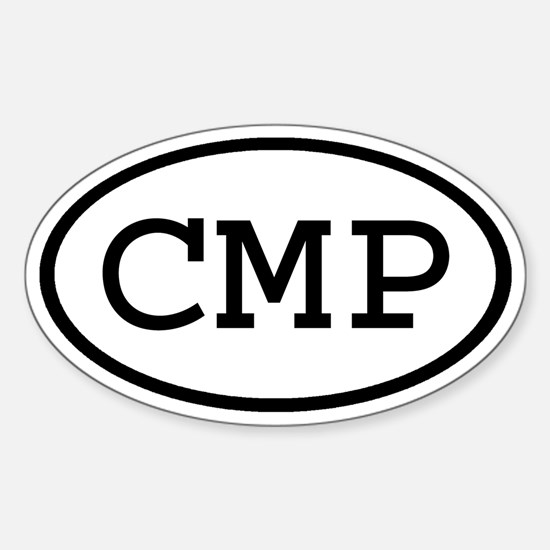 CMP Oval Oval Decal
