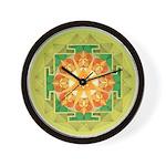 Ganesha Yantra Wall Clock