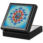 Keepsake Box Kali in Shri Yantra Crystals